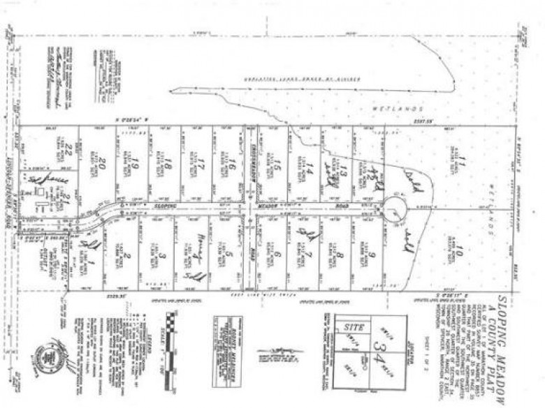 LOT 5 Sloping Meadow Road Sloping Meadow, Marshfield, WI by Century 21 Gold Key $18,500