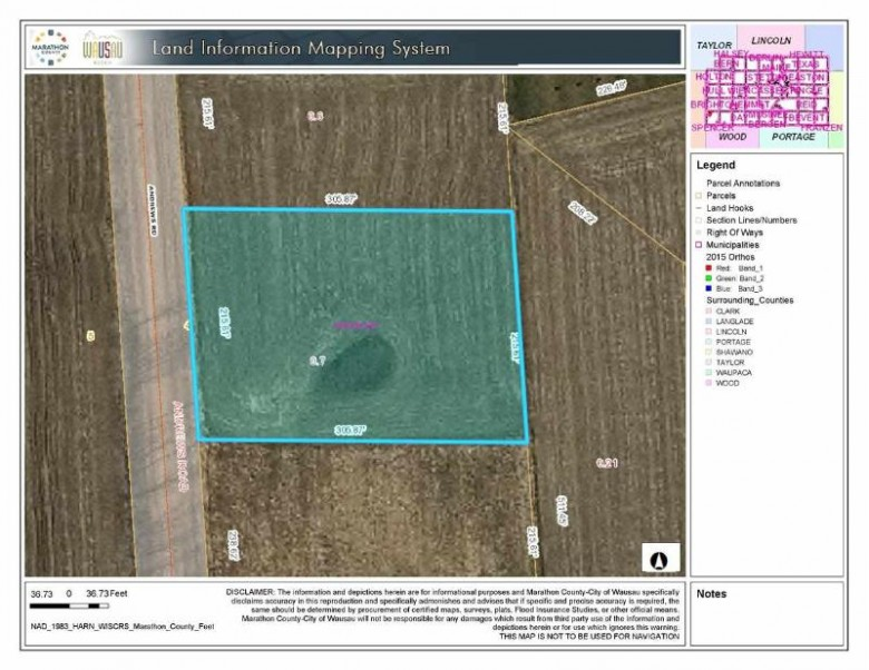 0000 Heritage Drive, Spencer, WI by Exit Greater Realty $16,500