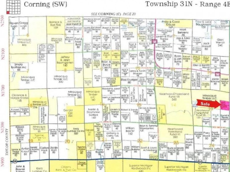 NEAR Joe Snow Road, Merrill, WI by Steigerwaldt Land Sales, Llc $42,060