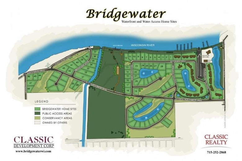 2971 Waterview Drive LOT #16, Biron, WI by Classic Realty, Llc $69,000