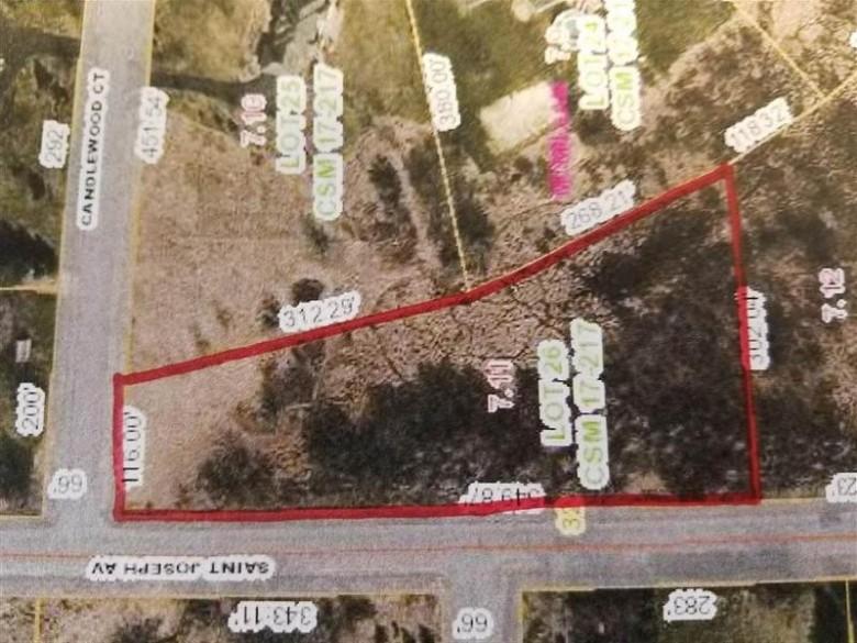 LOT 26 & 27 Saint Joseph Avenue, Marshfield, WI by Success Realty Inc $49,900