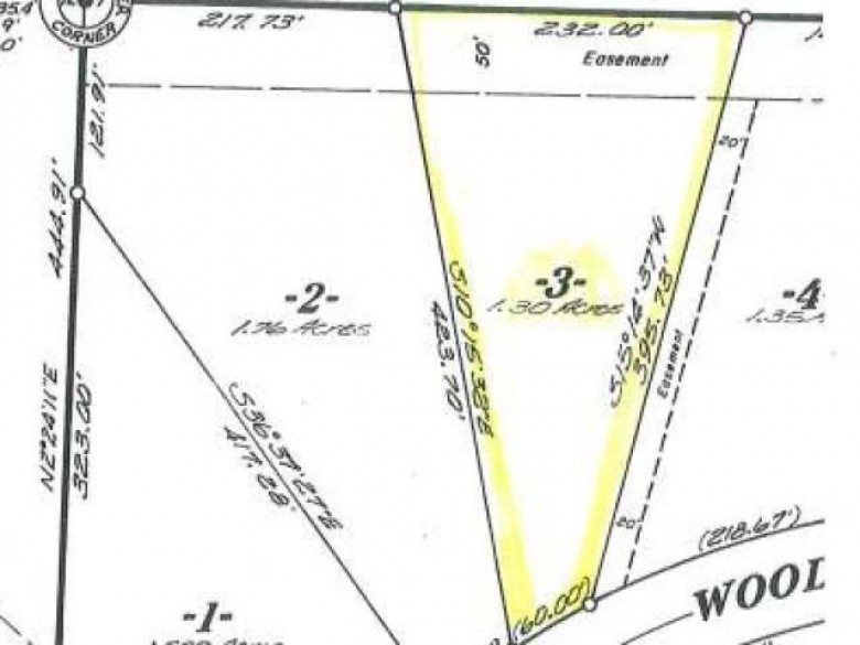 LOT 3 Woodland Dr, Plum Lake, WI by Eliason Realty Of St Germain $12,900