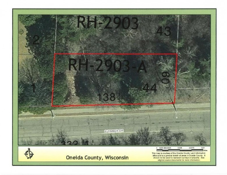 ON Timber Dr, Rhinelander, WI by Coldwell Banker Mulleady-Rhldr $8,000