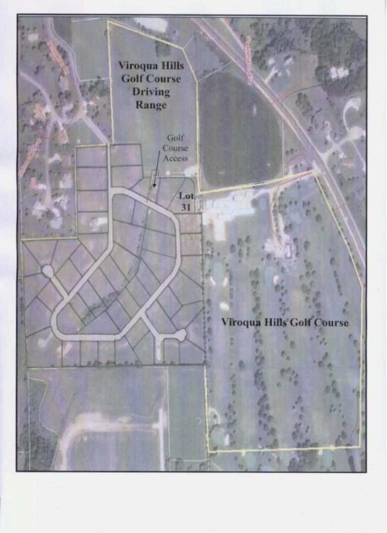 LOT 31 16th Fairway Dr, Viroqua, WI by United Country - Oakwood Realty $40,500