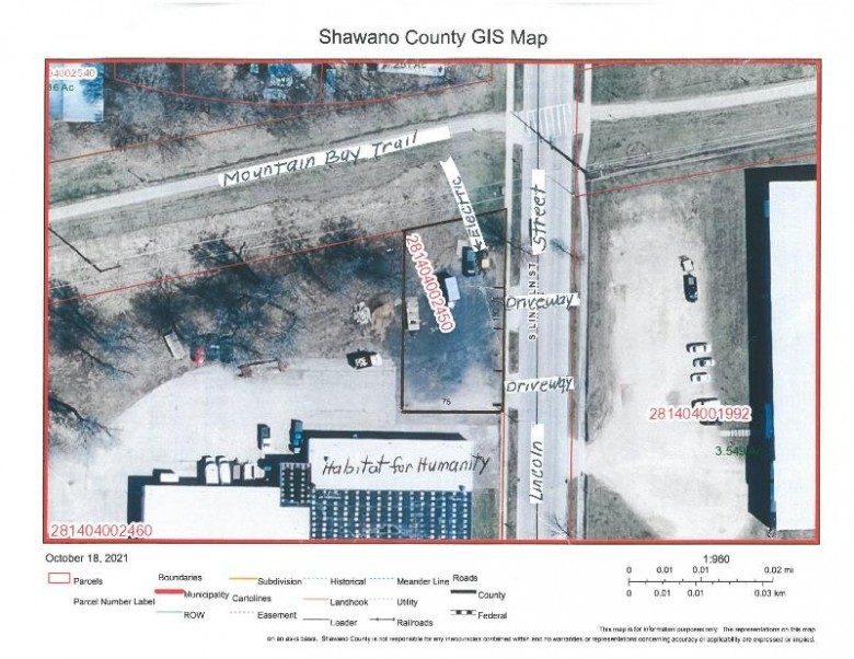 811 S Lincoln St, Shawano, WI by Re/Max North Winds Realty, Llc $20,000