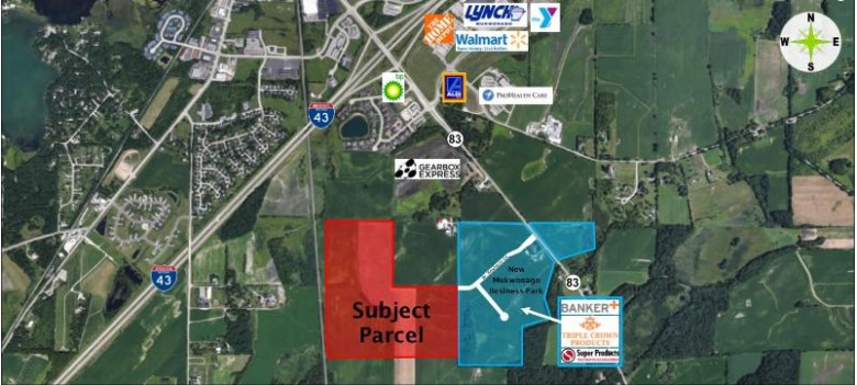 LT0 W Dewey Dr, Mukwonago, WI by Anderson Commercial Group, Llc $9,025,500