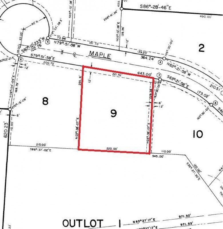 LOT 9 Maple Dr, Elkhart Lake, WI by Coldwell Banker Werner & Assoc $50,000