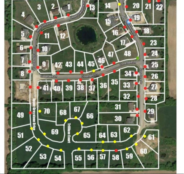 LT 70 Upper Greystone Dr, Plymouth, WI by Hillcrest Realty $58,000