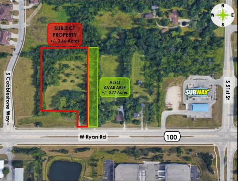 5400 W Ryan Rd, Franklin, WI by Anderson Commercial Group, Llc $600,000