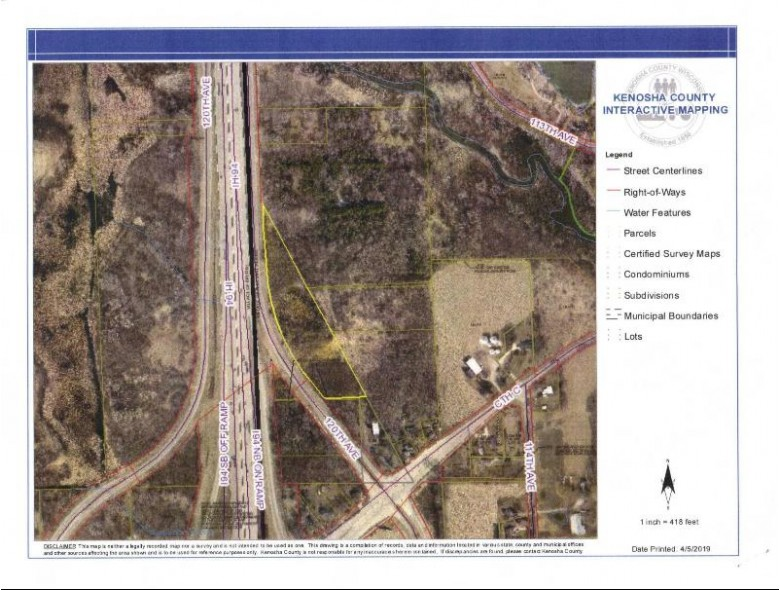 5.89 ACRES 120th Ave, Pleasant Prairie, WI by Realty World-Tiffany R.e. $249,900