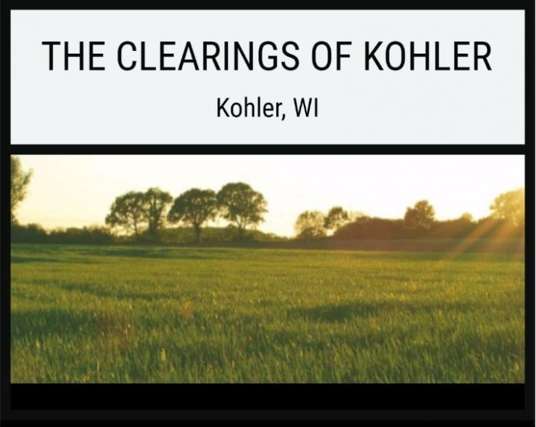 LOT 55 The Clearings, Kohler, WI by Village Realty & Development $108,500