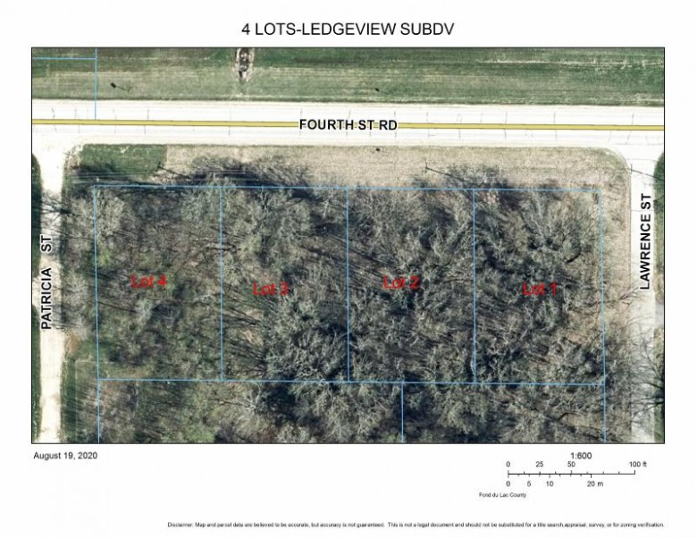 LT3 4th St, Fond Du Lac, WI by Point Real Estate $24,900