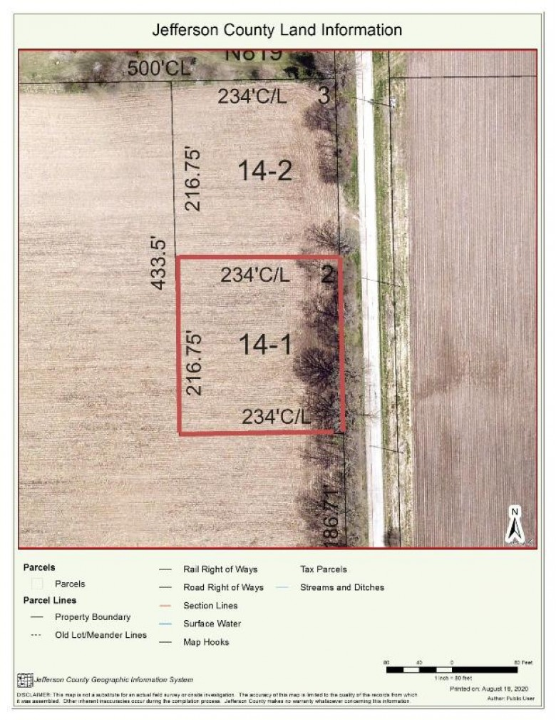 LT1 Howard Rd, Whitewater, WI by Davemansur.com Real Estate Llc $54,890