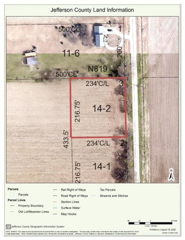LT2 Howard Rd, Whitewater, WI by Davemansur.com Real Estate Llc $54,890