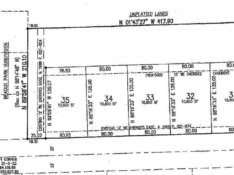 2180 90th St LT34, Sturtevant, WI by Point Real Estate $52,900