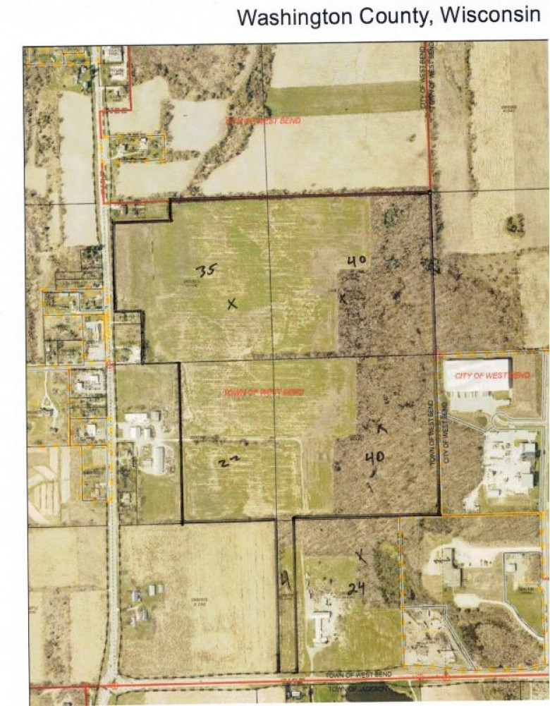 LT0 County Road P, West Bend, WI by Boss Realty, Llc $4,200,000