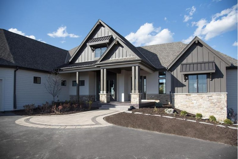 10122 W Farmdale Estates Ct, Mequon, WI by First Weber Real Estate $1,700,000