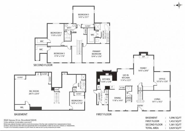 3520 Nassau Dr, Brookfield, WI by Market Fare Llc $724,900