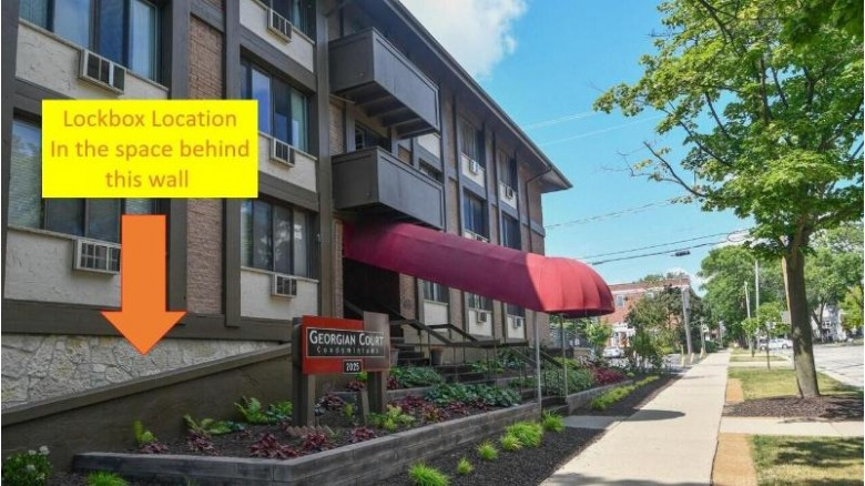 2025 E Greenwich Ave 302 Milwaukee, WI 53211 by Coldwell Banker Realty $110,000