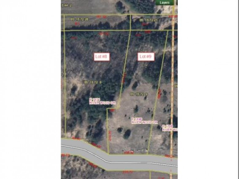 E1674 River Wood Drive LOT 8, Waupaca, WI by RE/MAX Lyons Real Estate $41,000