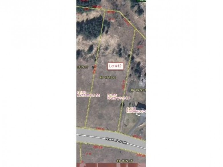 E1738 River Wood Drive LOT 12, Waupaca, WI by RE/MAX Lyons Real Estate $41,000