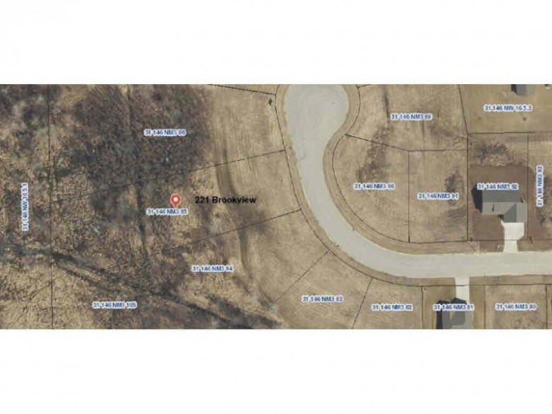 221 Brookview Court Lot 85, Luxemburg, WI by Radue Realty $32,900