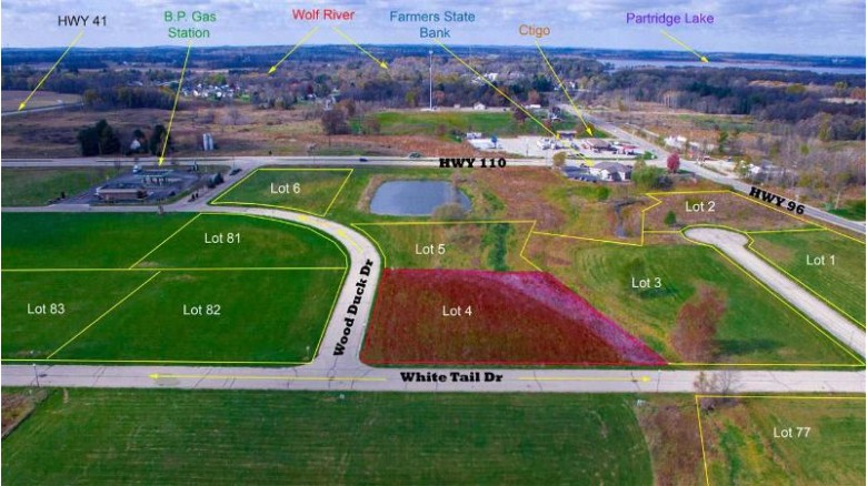 Wood Duck Drive, Fremont, WI by Rieckmann Real Estate Group, Inc $34,900