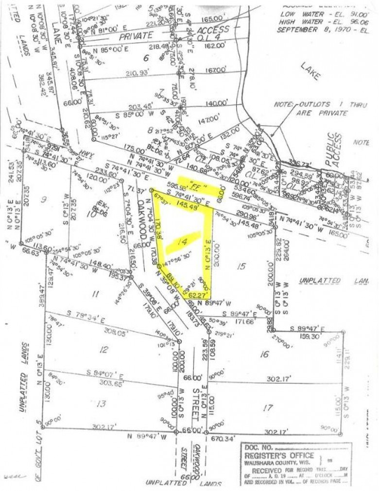 Hwy Ff, Hancock, WI by First Weber Real Estate $14,000