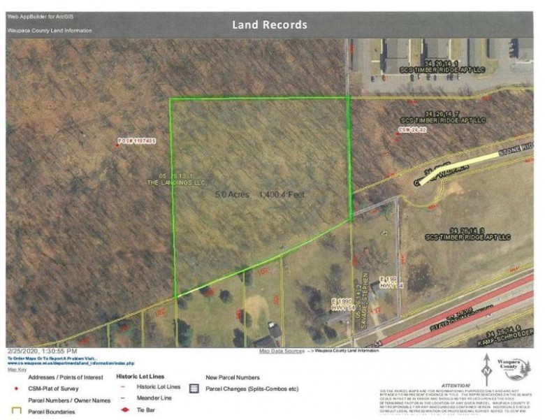 Stone Ridge Road, Waupaca, WI by RE/MAX Lyons Real Estate $129,000