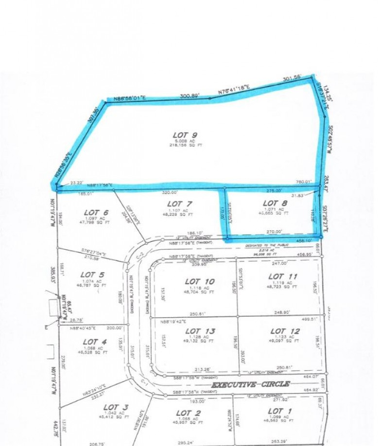 Executive Circle, Little Suamico, WI by DB Commercial LLC $89,000