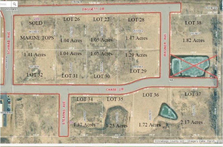 Chase Drive, Omro, WI by Score Realty Group, LLC $10,500
