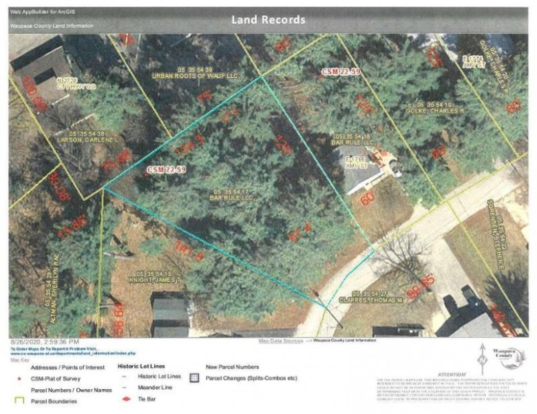 Amy Street, Waupaca, WI by RE/MAX Lyons Real Estate $29,900