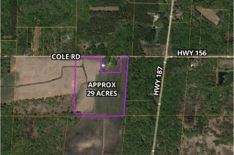 Cole Road, Shiocton, WI by Keller Williams Fox Cities $150,000
