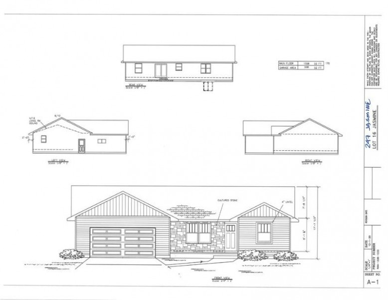 247 Jasmine Drive Berlin, WI 54923-9166 by First Weber Real Estate $269,800