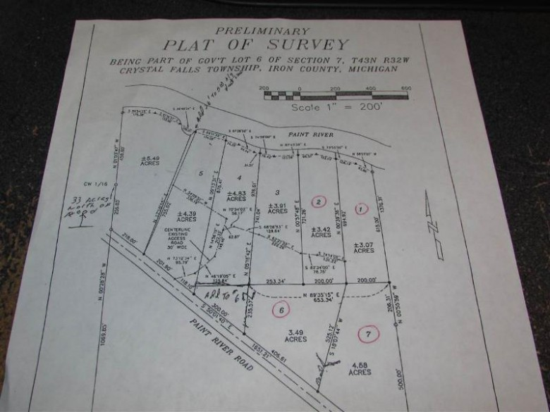 TBD Paint River Rd LOT 1, Crystal Falls, MI by Century 21 North Country Agency $45,000