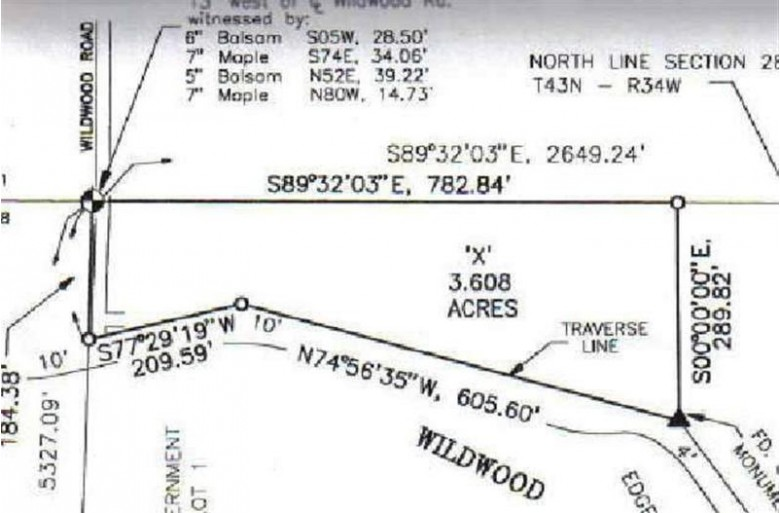 TBD Wildwood Lake Rd LOT X, Iron River, MI by U.p. Riverland Realty $55,000
