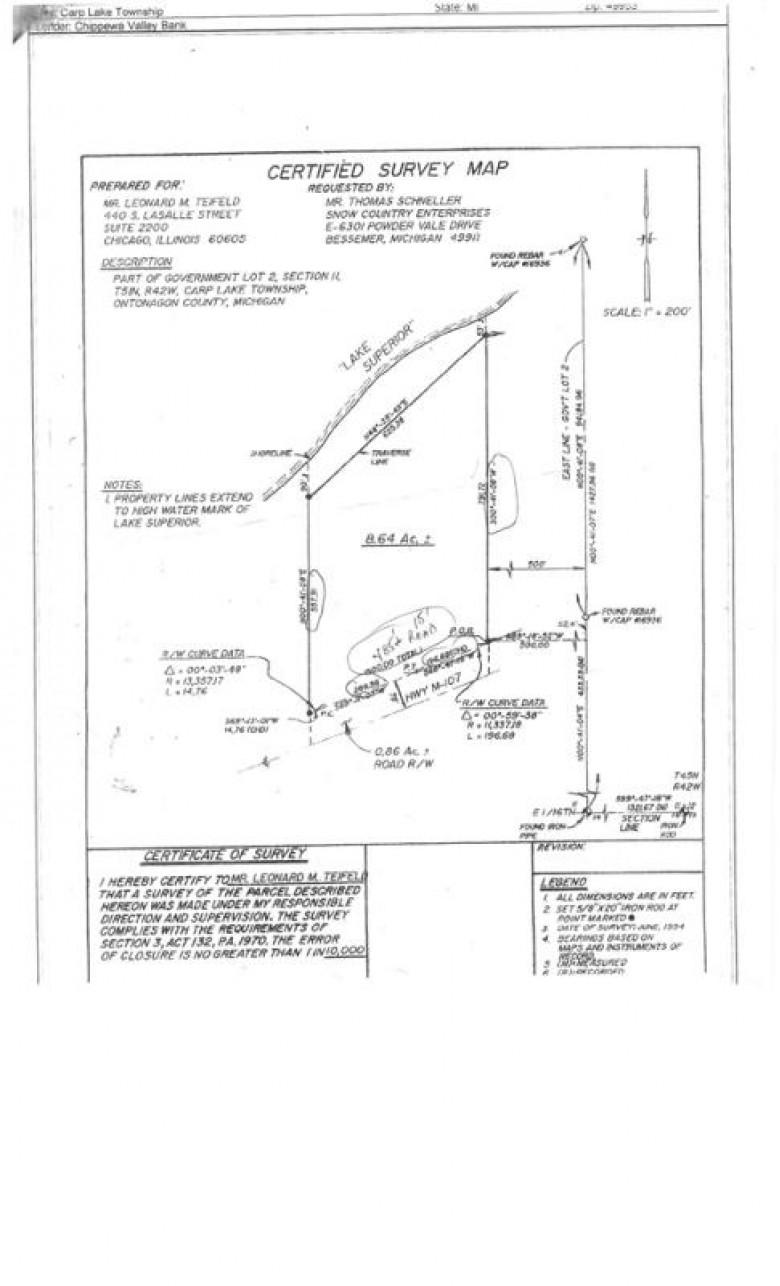 TBD M107, Ontonagon, MI by First Weber Real Estate $498,000
