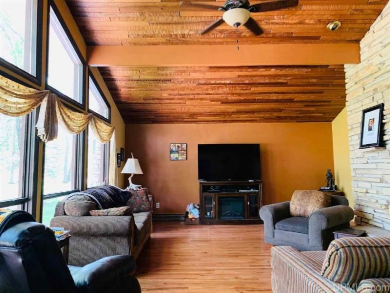 8709 W Lakeview Dr, Iron Mountain, MI by Leeds Real Estate $269,900