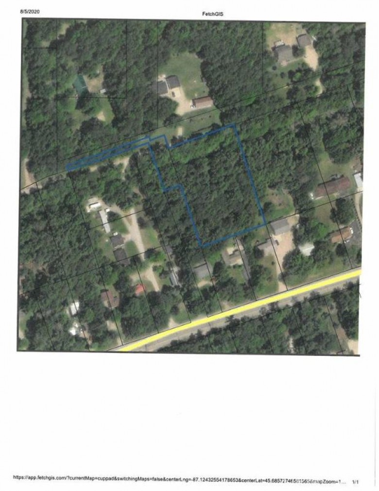 TBD M35 Rd, Bark River, MI by State Wide Real Estate Of Escanaba $25,000