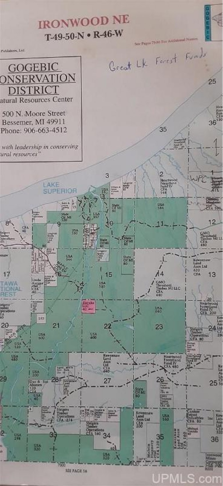 Co Rd 519, Wakefield, MI by First Weber Real Estate $59,000