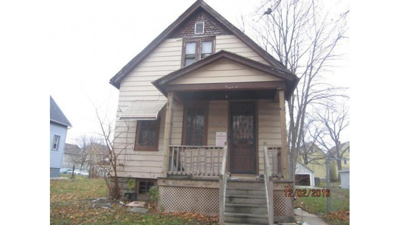 3038 N 23rd St Milwaukee, WI 53206-1649 by Jason Scott Realty & Management, Llc $5,000