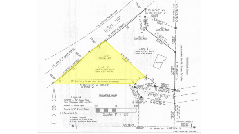 Lot# 2 Zirbel Drive Harrison, WI 54952 by Coldwell Banker The R E Group- Brillion $59,900