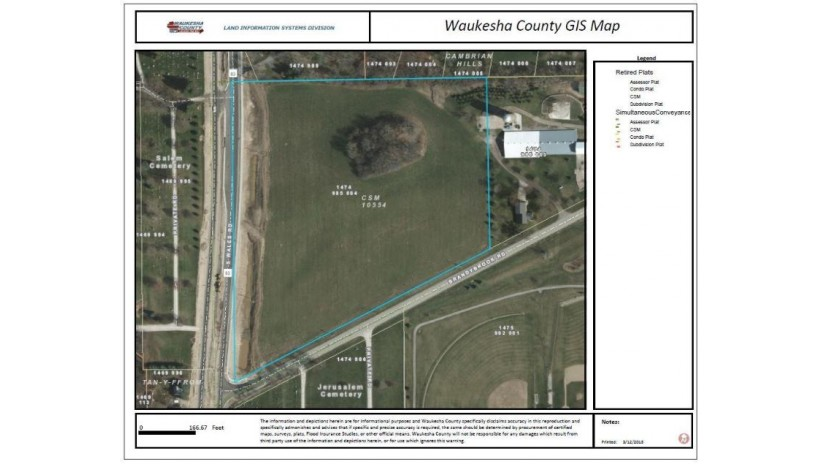 Lt0 Wales Rd 10 Acres Wales, WI 53183-9874 by M3 Realty $995,000