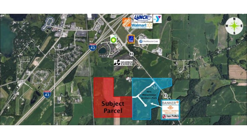 Lt0 W Dewey Dr Mukwonago, WI 53149 by Anderson Commercial Group, Llc $9,025,500