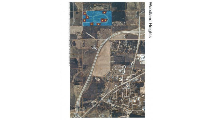 4781 Turkey Trail Lot #19 Woodland Hei Amherst, WI 54406 by First Weber $32,500