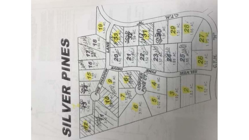Lot 3 Silver Pine Dr Crescent, WI 54501 by First Weber - Rhinelander $23,000