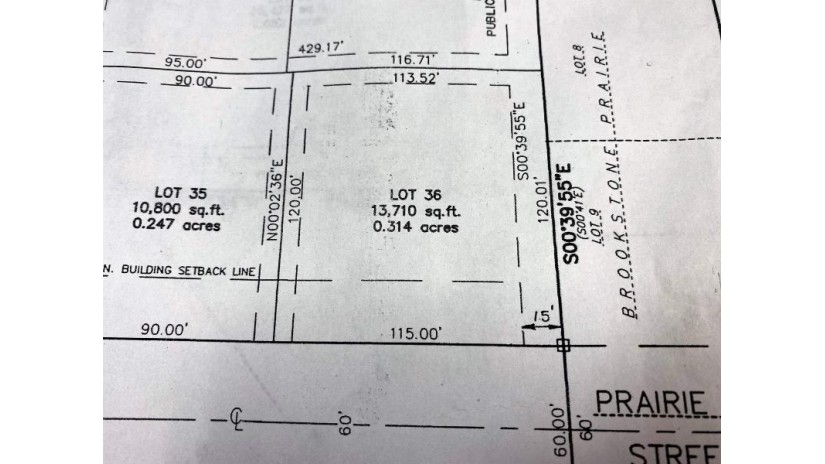 Lot 36 PRAIRIE FOX Street North Fond Du Lac, WI 54937 by First Weber, Inc. $38,900