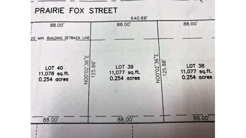 PRAIRIE FOX Street North Fond Du Lac, WI 54937 by First Weber, Inc. $38,900