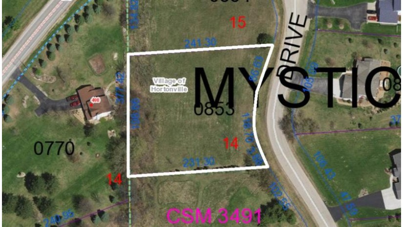 MYSTIC Drive Hortonville, WI 54944-1101 by Century 21 Ace Realty $34,900