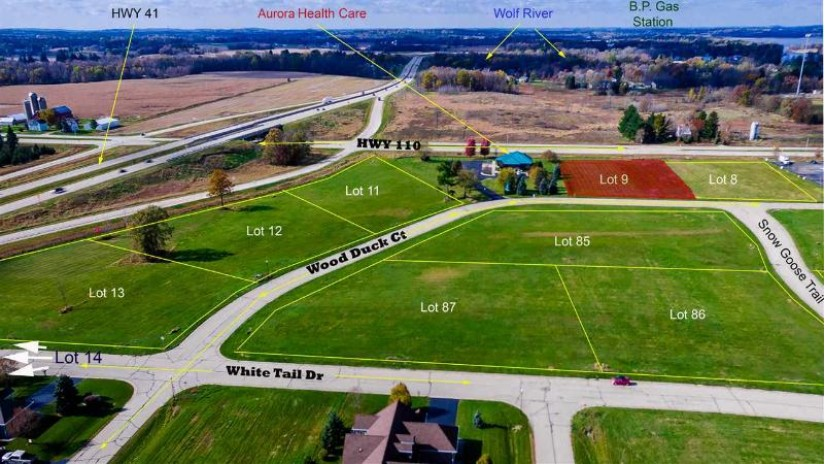 WOOD DUCK Drive Fremont, WI 54940 by Rieckmann Real Estate Group, Inc $119,000